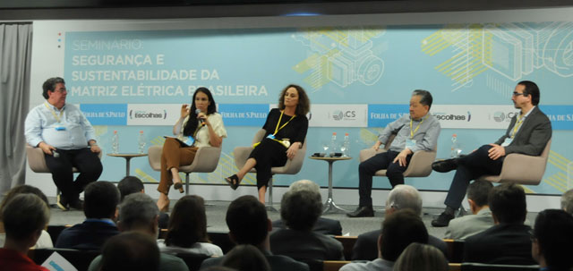 On October 19, the seminar Security and Sustainability of the Brazilian Power Matrix was held in São Paulo