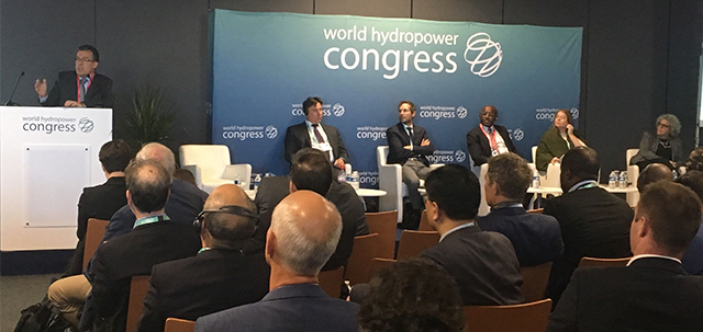 Rafael Kelman participated in the Integrated Energy Planning panel at the IHA's Hydropower World Congress in Paris