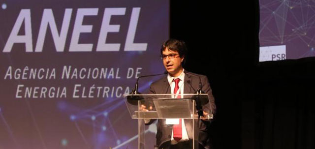 Luiz Barroso speaks at the International Seminar on Electricity Commercialization, organized by ANEEL