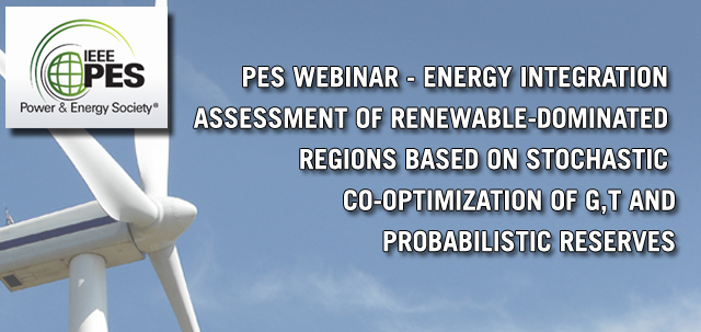 PSR's Operation and Planning Specialist presents an IEEE PES Webinar on 22nd March 2018